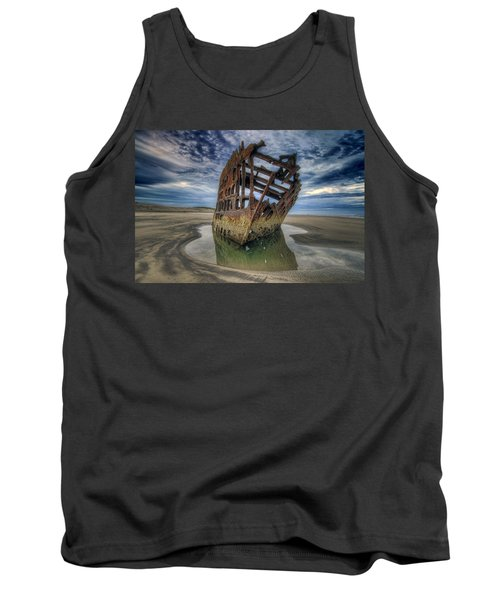 Peter Iredale At Dawn Tank Top