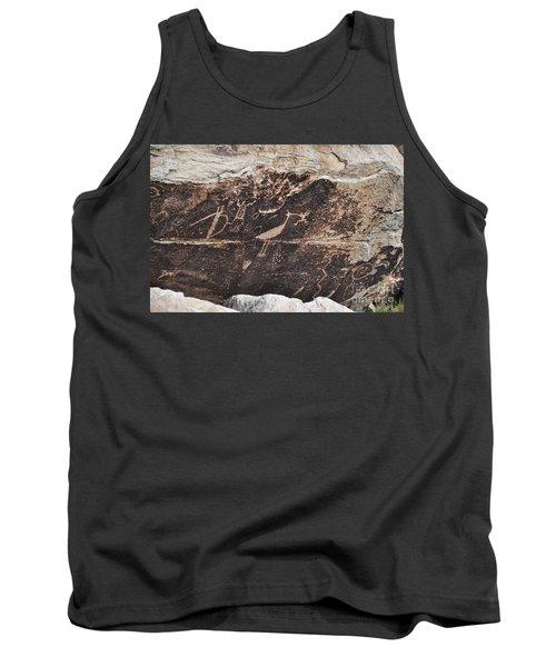 Petroglyph Bird Tank Top