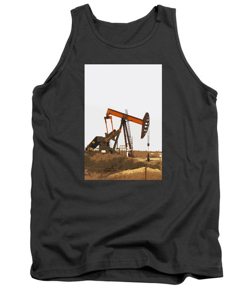 Petroleum Pumping Unit Tank Top by Art Block Collections