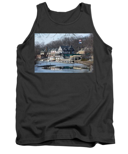 Philadelphia - Boat House Row Tank Top by Cindy Manero