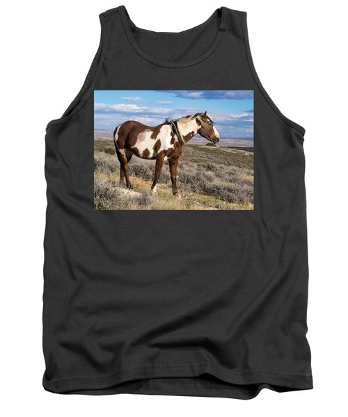 Picasso Of Sand Wash Basin Tank Top by Nadja Rider