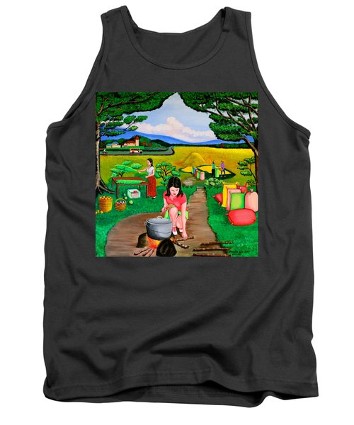 Picnic With The Farmers Tank Top