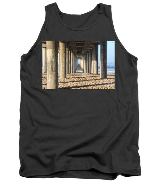 Tank Top featuring the photograph Pier by Tammy Espino