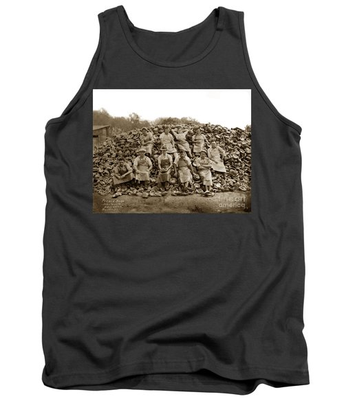 Pierce Brothers Abalone Morro Bay Circa 1925 Tank Top