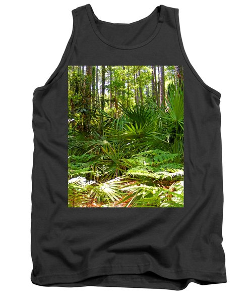 Pine And Palmetto Woods Filtered Tank Top