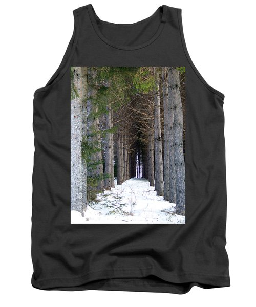 Pine Cathedral Tank Top