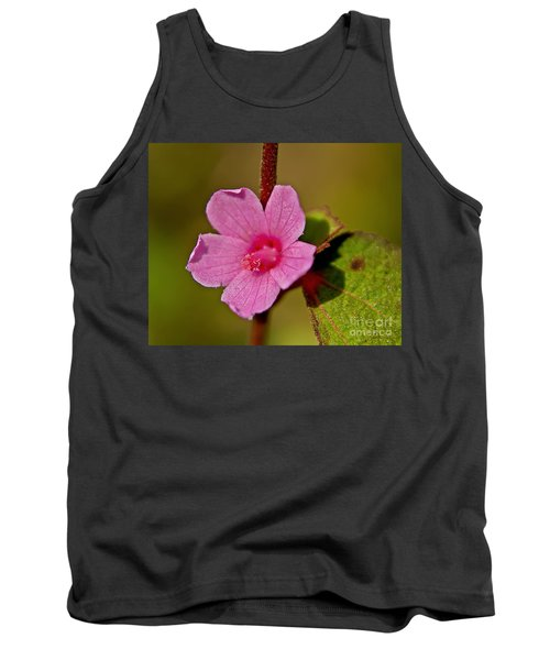 Tank Top featuring the photograph Pink Flower by Olga Hamilton