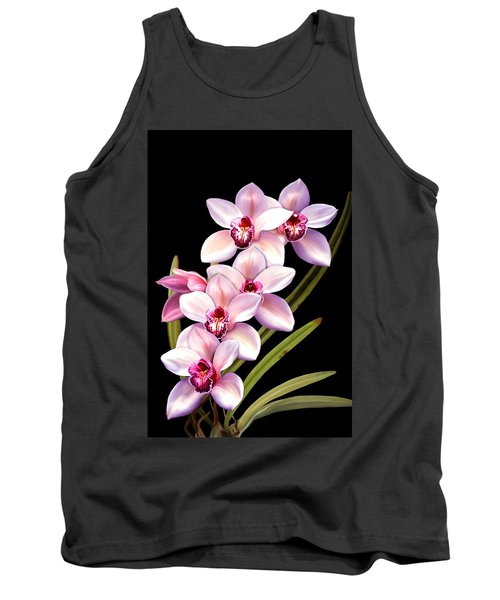 Pink Orchids Tank Top