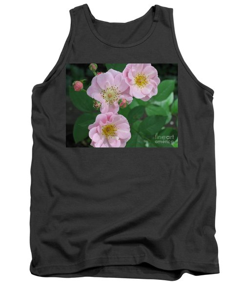 Pink Roses Tank Top by HEVi FineArt
