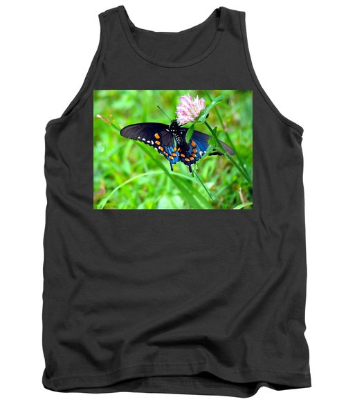 Pipevine Swallowtail Hanging On Tank Top