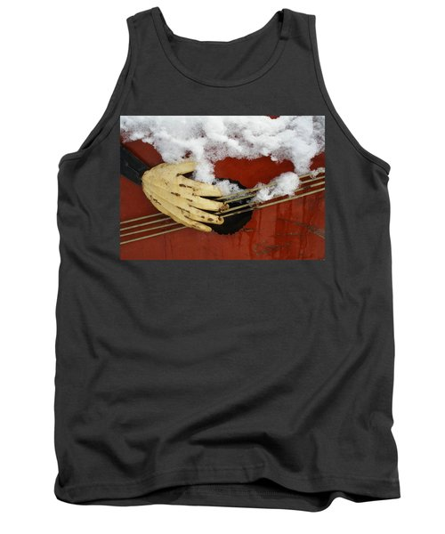 Playing The Cold Blues Tank Top