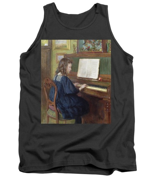 Playing The Piano Tank Top