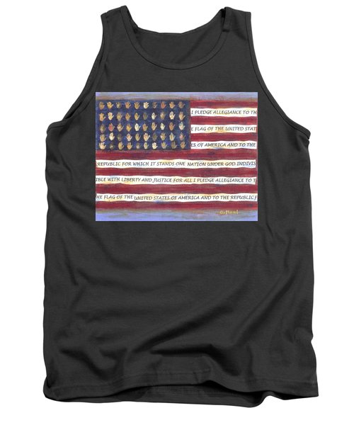 Pledge Flag Tank Top