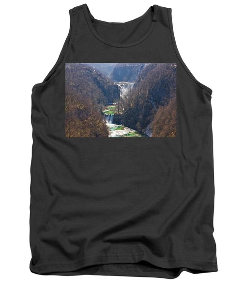 Plitvice Lakes National Park Canyon Tank Top by Brch Photography