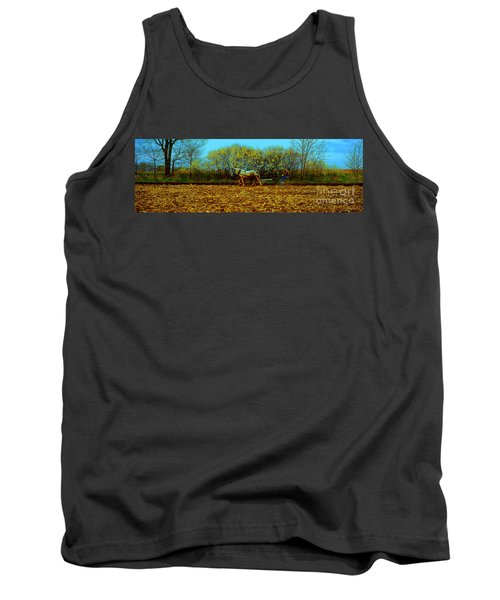 Plow Days Freeport Illinos   Tank Top