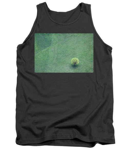 Tank Top featuring the photograph Point In The Plane by Davorin Mance