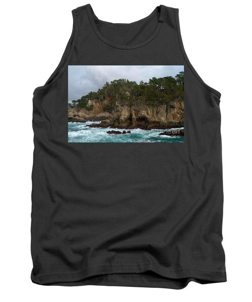 Point Lobos Coastal View Tank Top