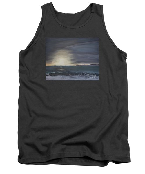Point Mugu Sunset Tank Top by Ian Donley