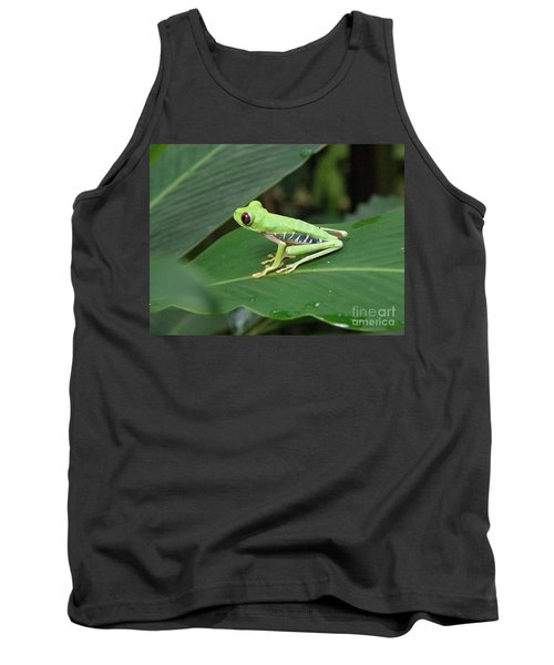 Poison Dart Frog Tank Top by DejaVu Designs