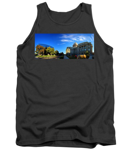Tank Top featuring the photograph Political Warping by David Andersen