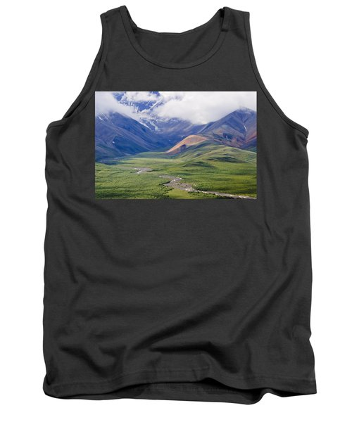 In The Beginning, God Created... Tank Top