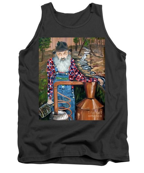 Popcorn Sutton - Bootlegger - Still Tank Top