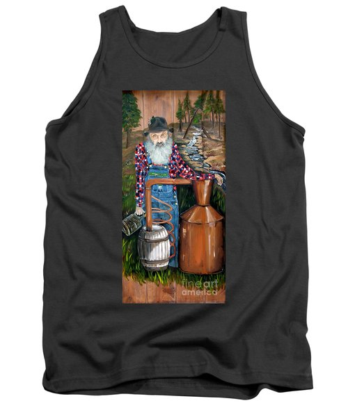 Popcorn Sutton - Moonshiner - Redneck Tank Top