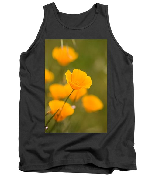 Tank Top featuring the photograph Poppy I by Ronda Kimbrow