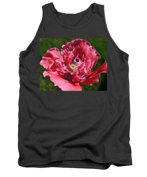 Poppy Pink Tank Top by Jim Hogg