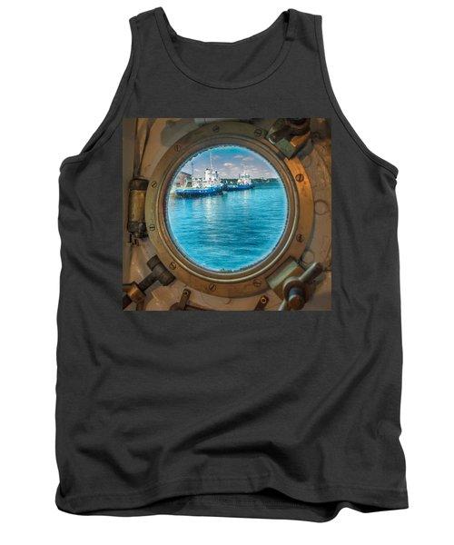 Hmcs Haida Porthole  Tank Top