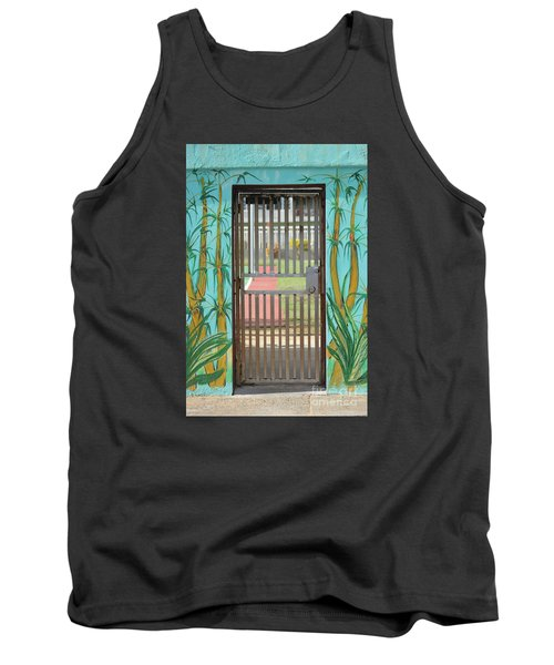 Porton Cerrado Tank Top by The Art of Alice Terrill
