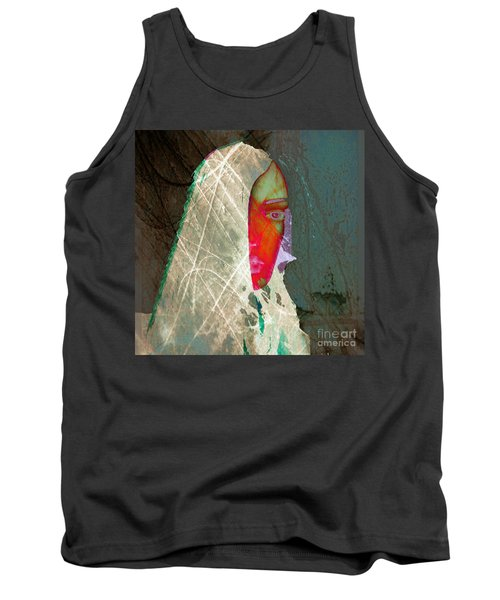Portrait Of Horror Tank Top by Irma BACKELANT GALLERIES