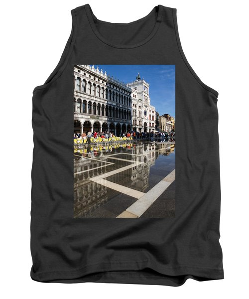 Tank Top featuring the photograph Postcard From Venice by Georgia Mizuleva