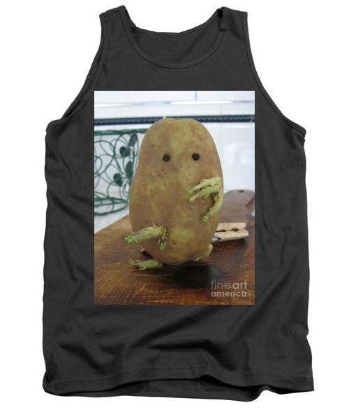 Potato Man Tank Top