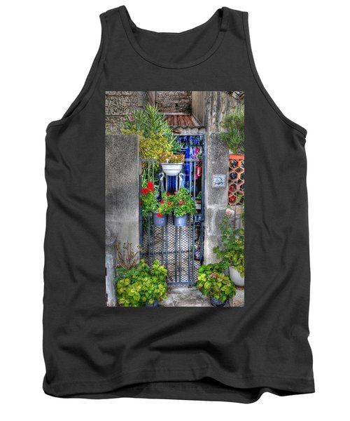 Tank Top featuring the photograph Pots Perouge France by Tom Prendergast