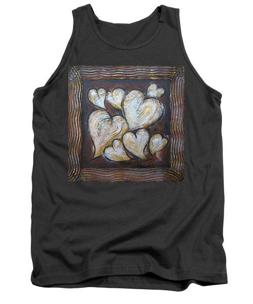Precious Hearts 301110 Tank Top by Selena Boron
