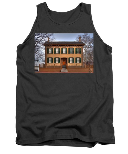 President Lincoln Home Springfield Illinois Tank Top
