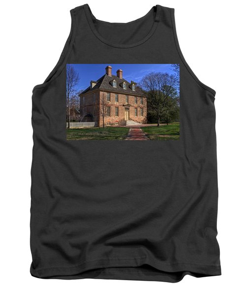 Tank Top featuring the photograph President's House College Of William And Mary by Jerry Gammon