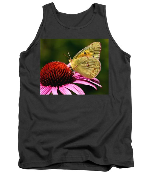 Pretty As A Butterfly Tank Top