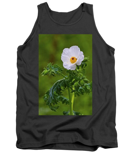 Prickly Poppy Tank Top by Gary Holmes