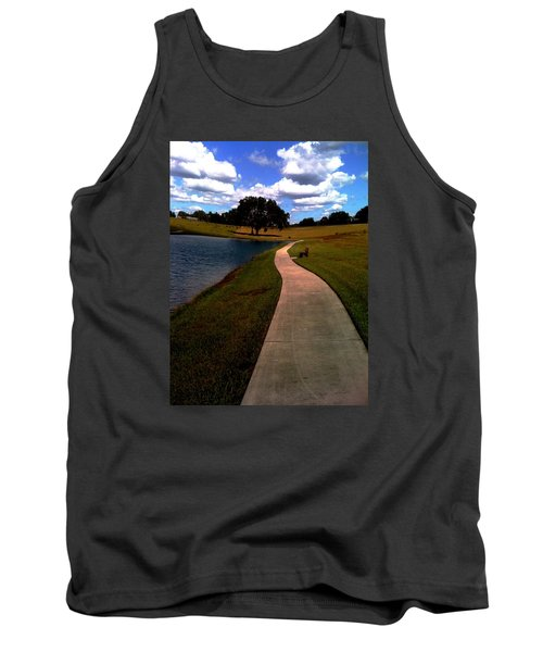Private Park,fl. Tank Top