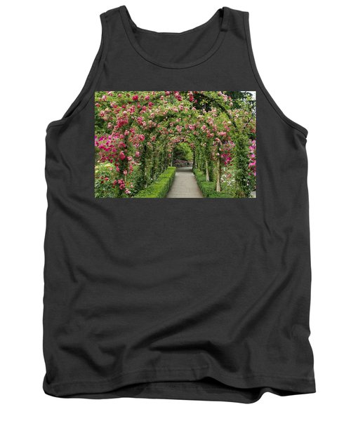 Tank Top featuring the photograph Rose Promenade   by Natalie Ortiz