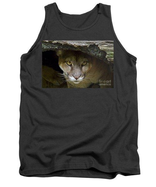 Puma Tank Top by Bob Hislop