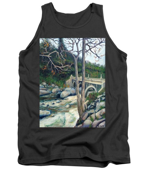 Pumpkin Hollow Bridge Tank Top
