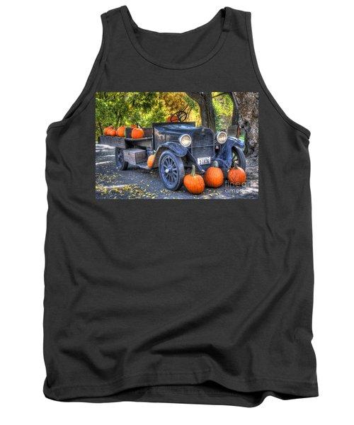 Pumpkin Hoopie Tank Top