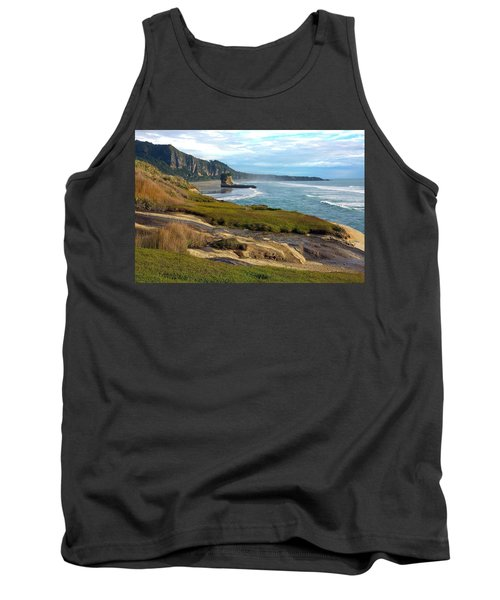 Tank Top featuring the photograph Punakaiki Truman Track by Stuart Litoff