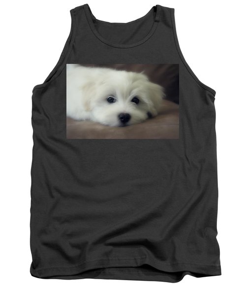 Puppy Eyes Tank Top by Melanie Lankford Photography