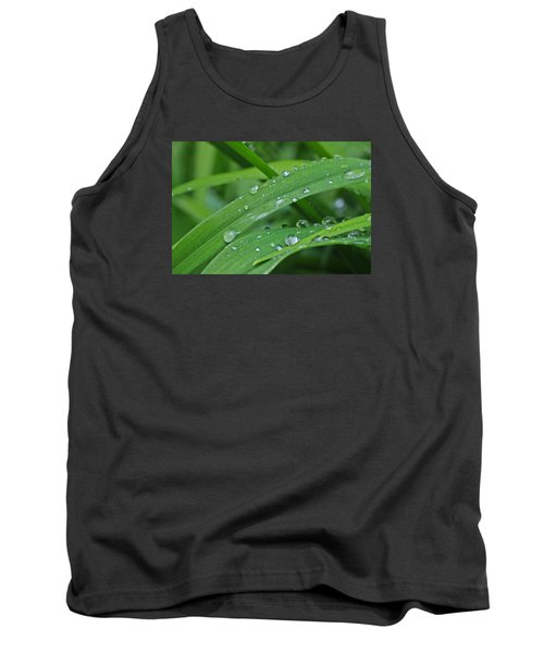 Tank Top featuring the photograph Pure Green by Julie Andel