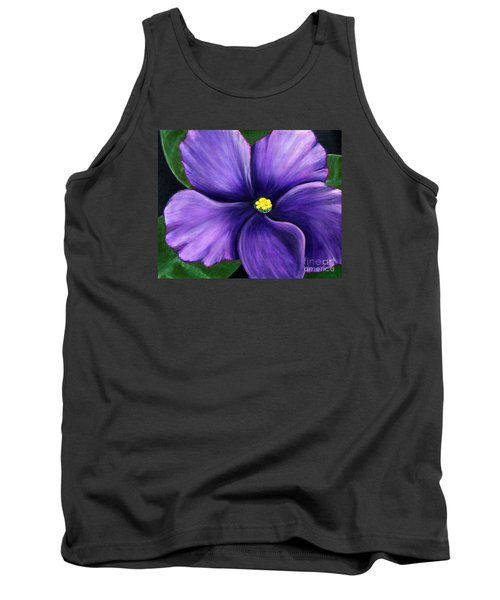 Purple African Violet Tank Top