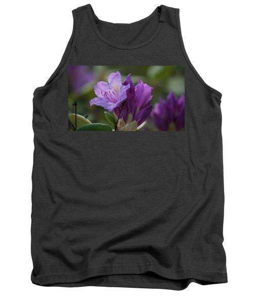 Purple Bloom Tank Top